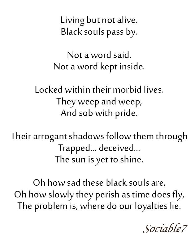 Poetry | Sociable7