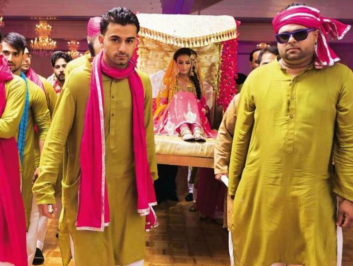 Mehndi Bride Entrance S : Culture etiquette pakistani wedding tradition